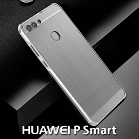 Huawei P Smart Metallic Bumper Back Case