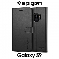 Spigen Wallet S Leather Case for Samsung Galaxy S9