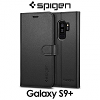 Spigen Wallet S Leather Case for Samsung Galaxy S9+