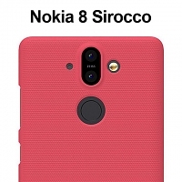 NILLKIN Frosted Shield Case for Nokia 8 Sirocco