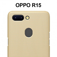NILLKIN Frosted Shield Case for OPPO R15