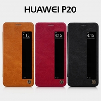 NILLKIN Qin Leather Case for Huawei P20