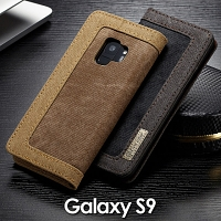 Samsung Galaxy S9 Jeans Leather Wallet Case