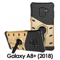 Samsung Galaxy A8+ (2018) Armor Case with Stand