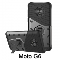 Motorola Moto G6 Armor Case with Stand