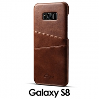 Samsung Galaxy S8 Claf PU Leather Case with Card Holder