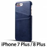 iPhone 7 Plus / 8 Plus Claf PU Leather Case with Card Holder