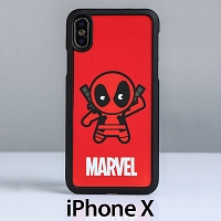 Marvel Deadpool 2 Back Case for iPhone X