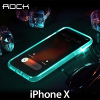 Rock Light Tube Case for iPhone X