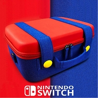 Nintendo Switch SINGULAB Mario Design - Premium Bag
