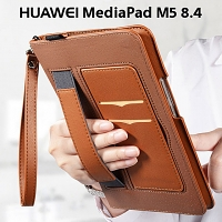 Huawei MediaPad M5 8.4 Leather Wallet Case