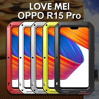LOVE MEI OPPO R15 Pro Powerful Bumper Case