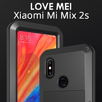 LOVE MEI Xiaomi Mi Mix 2s Powerful Bumper Case