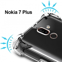 Imak Shockproof TPU Soft Case for Nokia 7 Plus