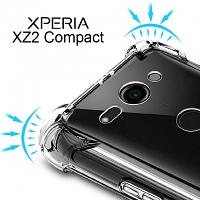 Imak Shockproof TPU Soft Case for Sony Xperia XZ2 Compact