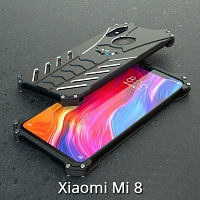 Xiaomi Mi 8 Bat Armor Metal Case