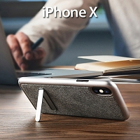 Benks Brownie Series Holder Protective Case for iPhone X