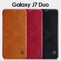 NILLKIN Qin Leather Case for Samsung Galaxy J7 Duo (2018)