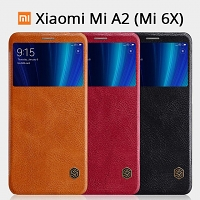 NILLKIN Qin Leather Case for Xiaomi Mi A2 (Mi 6X)