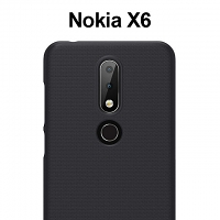 NILLKIN Frosted Shield Case for Nokia 6.1 Plus (Nokia X6 (2018)
