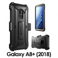 Supcase Unicorn Beetle Pro Rugged Holster Case for Samsung Galaxy A8+ (2018)