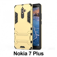 Nokia 7 Plus Iron Armor Plastic Case