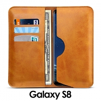 Samsung Galaxy S8 Leather Sleeve Wallet