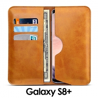 Samsung Galaxy S8+ Leather Sleeve Wallet