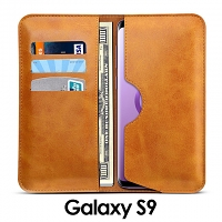 Samsung Galaxy S9 Leather Sleeve Wallet