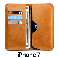 iPhone 7 Leather Sleeve Wallet