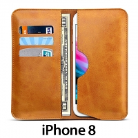 iPhone 8 Leather Sleeve Wallet