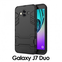 Samsung Galaxy J7 Duo Iron Armor Plastic Case