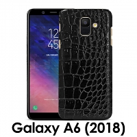 Samsung Galaxy A6 (2018) Crocodile Leather Back Case