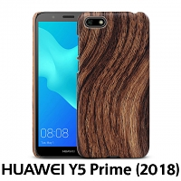 Huawei Y5 Prime (2018) Woody Patterned Back Case