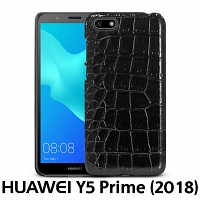 Huawei Y5 Prime (2018) Crocodile Leather Back Case