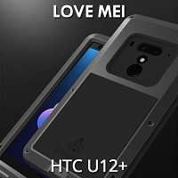LOVE MEI HTC U12+ Powerful Bumper Case