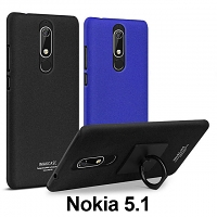 Imak Marble Pattern Back Case for Nokia 5.1