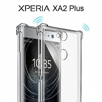 Imak Shockproof TPU Soft Case for Sony Xperia XA2 Plus