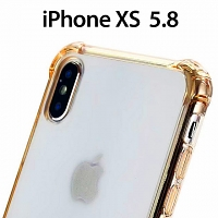 iPhone XS 5.8 Shockproof TPU Soft Case