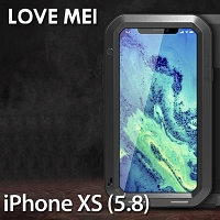 LOVE MEI iPhone XS (5.8) Powerful Bumper Case