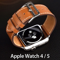 Apple Watch 4 / 5 Leather Watch Band
