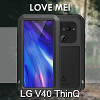 LOVE MEI LG V40 ThinQ Powerful Bumper Case