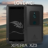 LOVE MEI Sony Xperia XZ3 Powerful Bumper Case