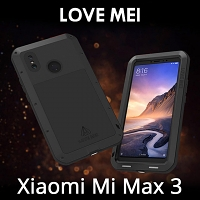 LOVE MEI Xiaomi Mi Max 3 Powerful Bumper Case