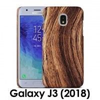 Samsung Galaxy J3 (2018) Woody Patterned Back Case