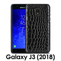 Samsung Galaxy J7 (2018) Crocodile Leather Back Case