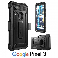 Supcase Unicorn Beetle Pro Rugged Holster Case for Google Pixel 3