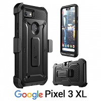 Supcase Unicorn Beetle Pro Rugged Holster Case for Google Pixel 3 XL