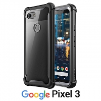 i-Blason Ares Clear Case with Screen Protector for Google Pixel 3