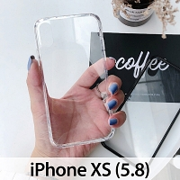 iPhone XS (5.8) Crystal Glass Case